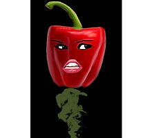 BELL PEPPER WITH AN ATTITUDE IPHONE CASE by ╰⊰✿ℒᵒᶹᵉ Bonita✿⊱╮ Lalonde✿⊱╮