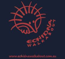 Echidna Walkabout logo Orange T-Shirt