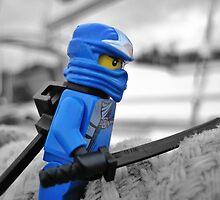 Something Blue, Someone New (2 of 3) by bricksailboat