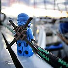 Something Blue, Someone New (3 of 3) by bricksailboat