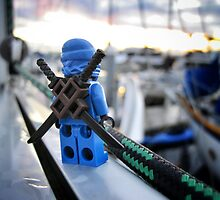 Something Blue, Someone New (3 of 3) by bricksailboat