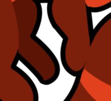 Fire Ferret Sticker