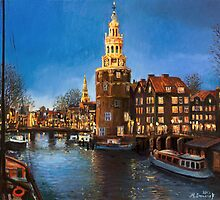 The Lights of Amsterdam by kirilart