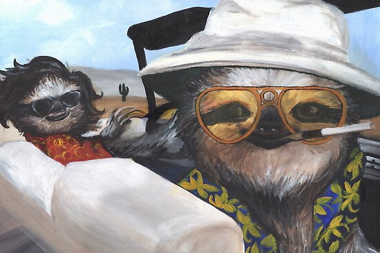 Fear and Loathing in Sloth Vegas by SabrinaColada