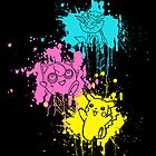 Pokemon Bright Paint by LexingtonD