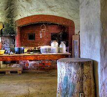 Old Kitchen. by Bette Devine