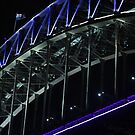 Vivid 2013: The Harbour Bridge by Kezzarama