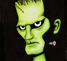 Frankenstein by loulousart