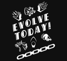 Bioshock - Evolve Today! (White) by QuestionSleepZz