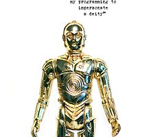 iPhone Case - C3PO by fenjay