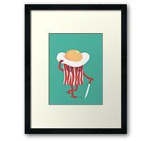 Meet the meat Framed Print
