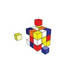 rubix cube  by Robert  Taylor