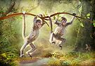 Little Monkeys by Trudi's Images