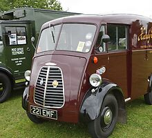 1955 Morris light Van 1500cc by Keith Larby