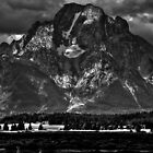 Mount Moran - Grand Teton National Park by aidan  moran