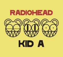 Radiohead - Kid A by razaflekis