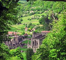 Rievaulx Abbey by Yorkspalette