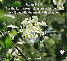 Psalm 149:4 by nikspix