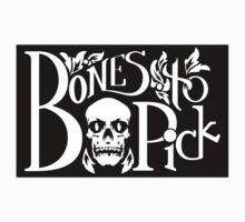 Bones to Pick vintage logo by nominalaeon