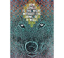 howling wolves Photographic Print