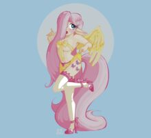 My Little Pin Up- Fluttershy by LillyKitten