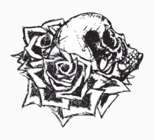 Skull and Roses by FontaineN