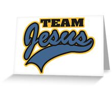 Mount Pleasant Team Jesus Greeting Card