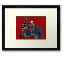 Mad As Hell Framed Print