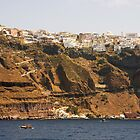 Thíra, Santorini, Greece by Tom Gomez