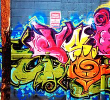 Graffiti diptych A by rlnielsen4