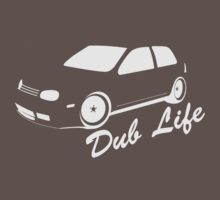 Dublife-White ink by VolkWear