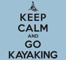 Keep Calm and Go Kayaking LS T-Shirt