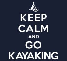 Keep Calm and Go Kayaking DS T-Shirt