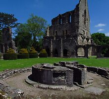 Chapter House & Lavabo, Wenlock Priory by wiggyofipswich