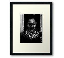 Send in The Clown II Framed Print