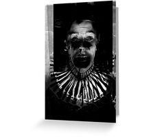 Send in The Clown II Greeting Card