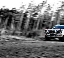 Opel Rally car (splash of colour) by redleg