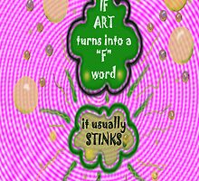 """ART as a """"F"""" word by James Lewis Hamilton"""