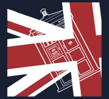 British Flag TARDIS by TesniJade