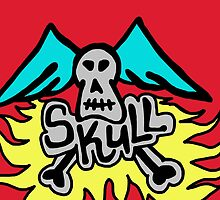 skull wings by Logan81