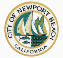 Newport Beach City Seal by GreatSeal