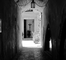 Light at the end of the Tunnel: Old Town Chania, Crete, Greece by Susan Wellington