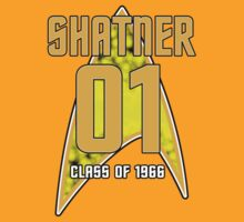 CLASS OF 1966: SHATNER by inkpossible