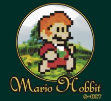 Mario Hobbit (Small - Version 3) by Rodrigo Marckezini