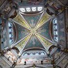 Basilica of Saint Jean-Marie Vianney - Ars. France by Marilyn Grimble