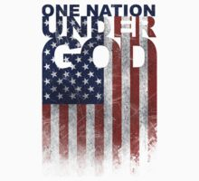 ONE NATION UNDER GOD (FLAG) by Look Human