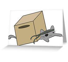 Metal Gear Kitty Greeting Card