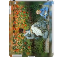 Madame Monet 3-D Redux iPad Case/Skin