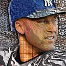 DEREK JETER iPHONE & iPOD CASES by BOOKMAKER