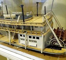 Paddle Wheeler Model by WildestArt